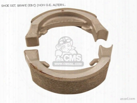 Shoe Set, Brake (ebc) (non O.e. Alternative)