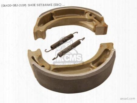 Shoe Set,brake (ebc) (non O.e. Alternative)