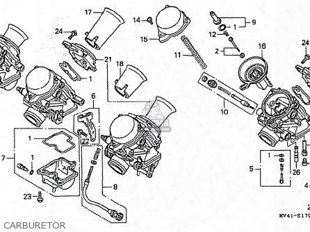 (16010-mv4-780) Gasket Set A