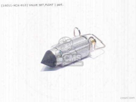 (16011-kck-910) Valve Set,float