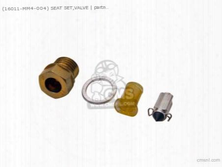 (16011mm4004) Seat Set,valve