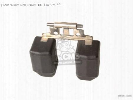 (16013-kcy-670) Float Set