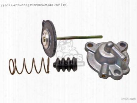 (16021kc5004) Diaphragm,set,pup