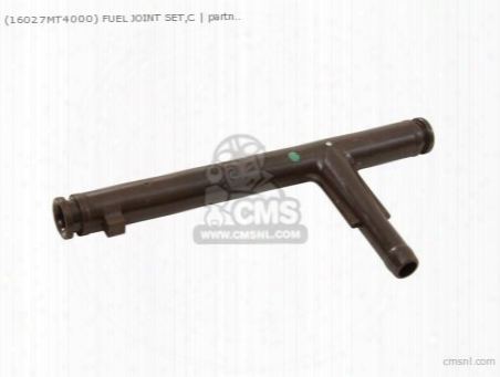 (16027mt4000) Fuel Joint Set,c