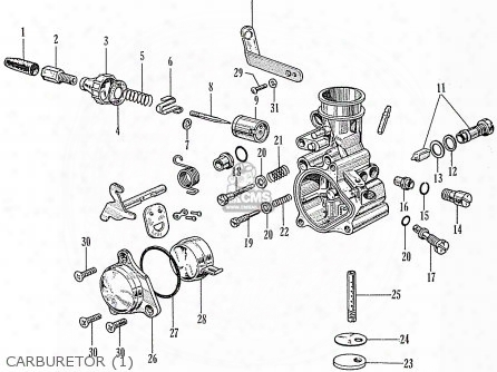 (16163044014) Screw, Throttle