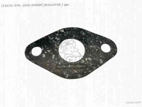 (16201041306) Gasket,insulator