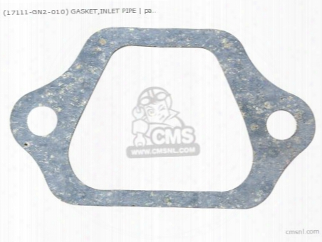 (17111gn2306) Gasket,inlet Pipe