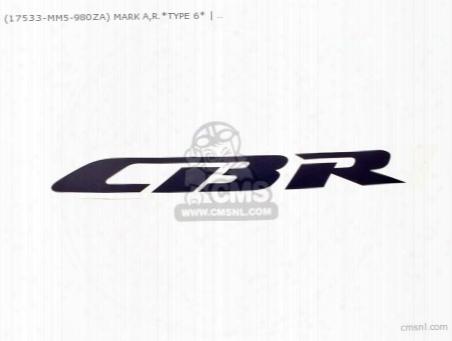 (17533mm5980za) Mark A,r.*type 6*