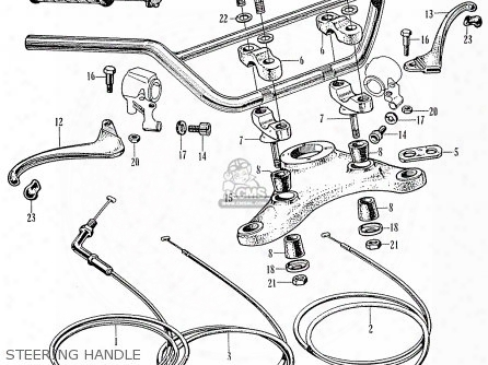 (17910-313-405) Wire,throttle