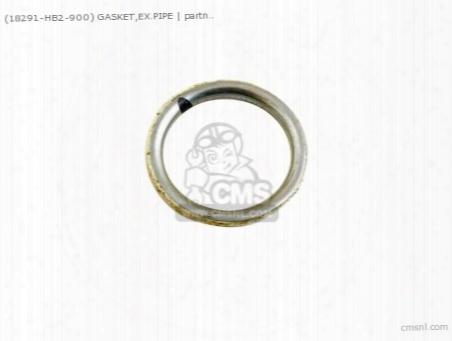(18291001306) Gasket Ex Pipe