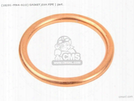 (18291236306) Gasket,exh.pipe