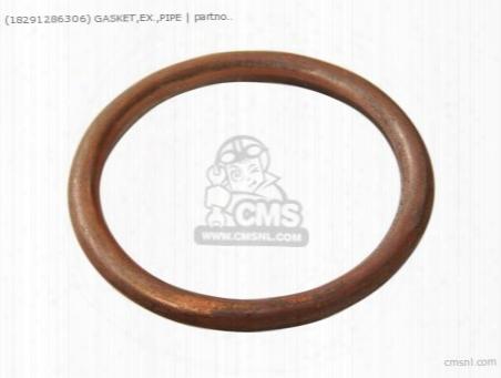 (18291286306) Gasket,ex.,pipe