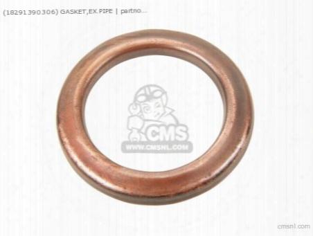 (18291390306) Gasket,ex.pipe