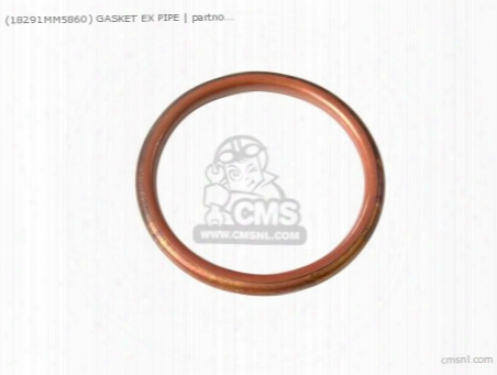(18291mm5860) Gasket Ex Pipe