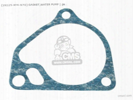 (19225ky4970) Gasket,water Pump