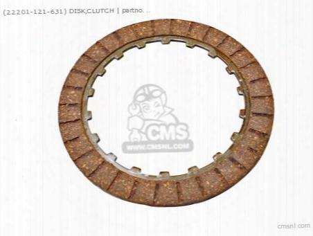 (22201096000) Disk,clutch