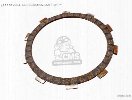 (22201302000) Disk,friction