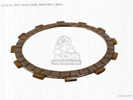 (22201ma7000) Disc Clutch