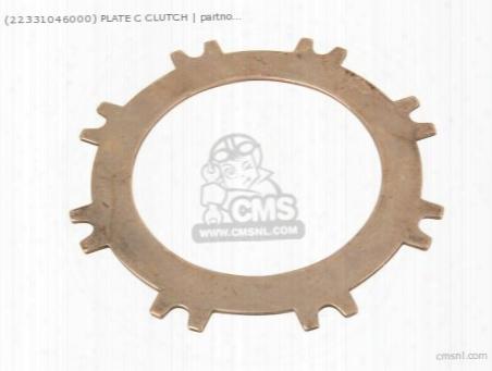 (22331046000) Plate C Clutch