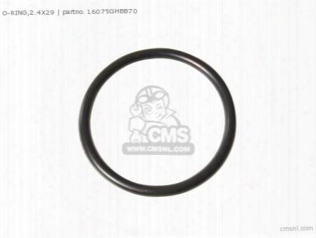 O-ring,2.4x29