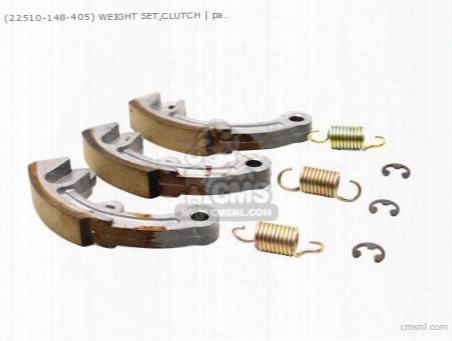 (22510-148-405) Weight Set,clutch