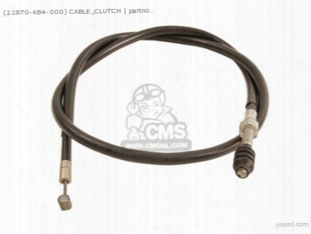 (22870356000) Cable.,clutch