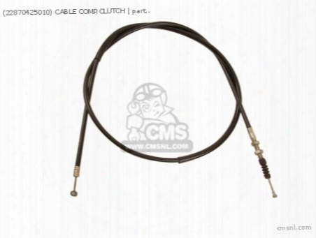 (22870425010) Cable Comp,clutch