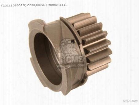 (23111-096-020) Gear,drive