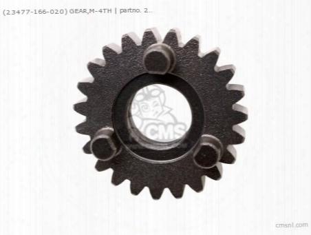 (23477166010) Gear,m-4th