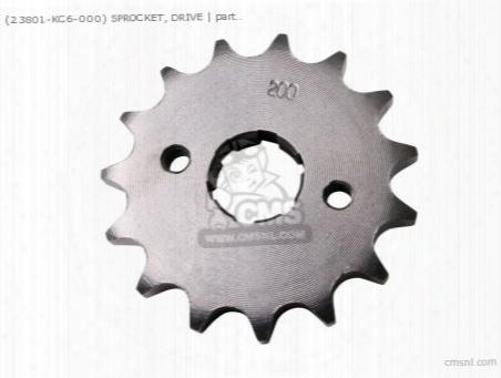 (23801324000) Sprocket, Drive