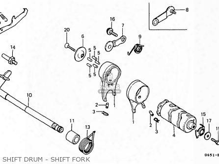 (24610065921) Arm Gear Shift