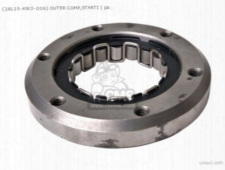 (28125-kw3-006) Outer Comp,starti