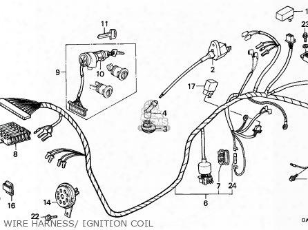 (30510-gf9-405) Coil Comp.,igniti