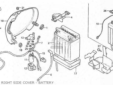 (31500-kc1-921) Battery,12v9