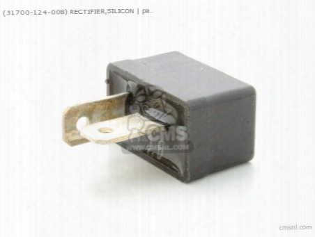 (31700124008) Rectifier,silicon
