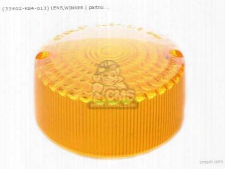 (33402kb4013) Lens,winker