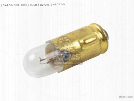 (34908001000) Bulb