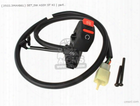 (35013-may-861) Set,sw Assy.st Ki