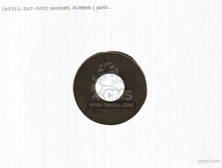 (63312za7000) Washer, Rubber