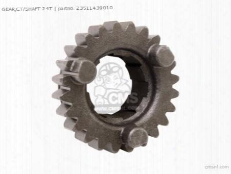 Gear,ct/shaft 24t
