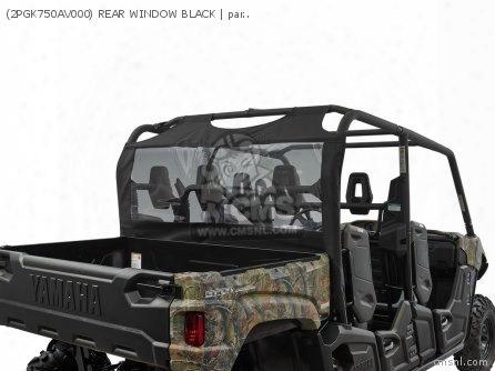 (2pgk750av000) Rear Window Black