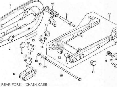 (40510-gt0-010zh) Case,chain*nh-35m