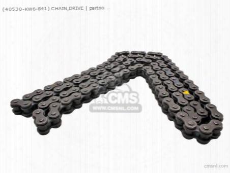 (40530-kw6-506) Chain,drive
