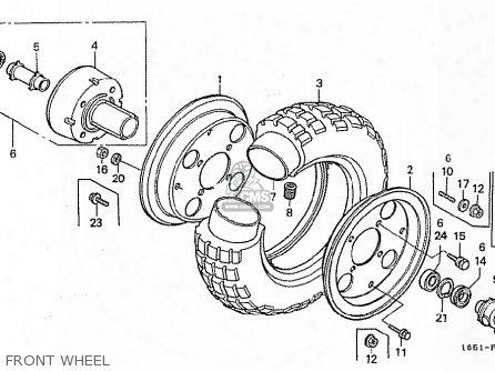 (42701-165-j00) Rim,r.wheel