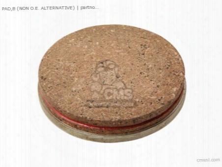 (43051-001p) Pad,b (non O.e. Alternative)