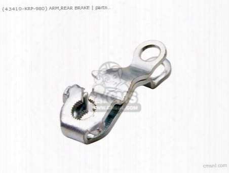 (43410-krp-980) Arm,rear Brake