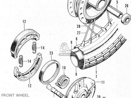 (44701-028-014) Rim,front Wheel