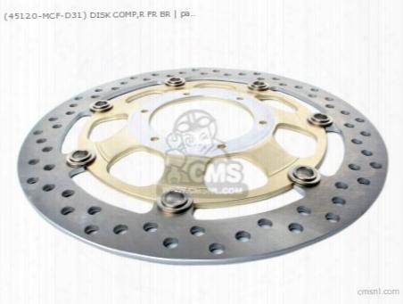 (45120-mcf-d31) Disk Comp,r Fr Br