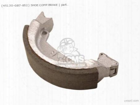 (45130gb7852) Shoe.comp.brake