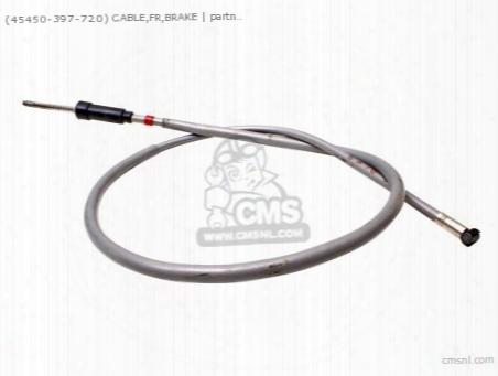(45450397720) Cable,fr,brake